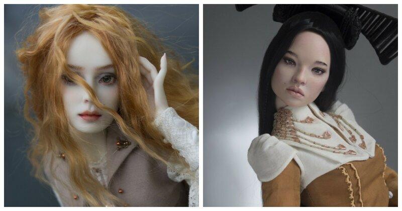 Мечта коллекционера: реалистичные куклы мастеров из Краснодара (63фото)