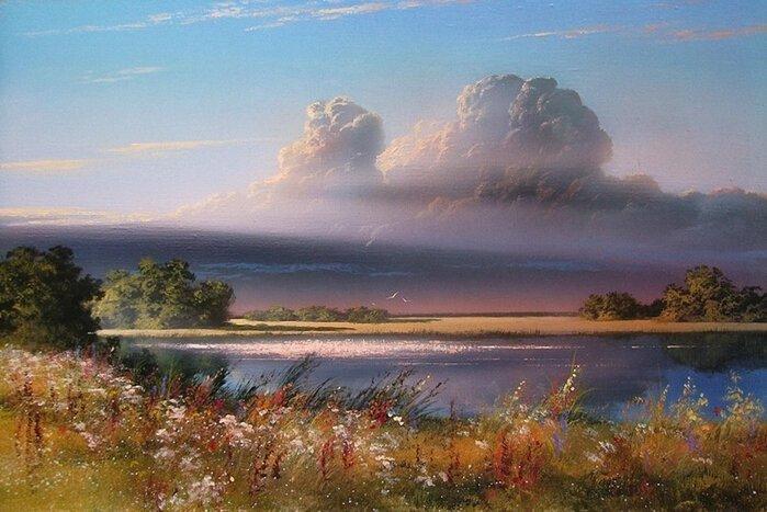 Свет лесов и полей... Художник Сергей Ковальчук (15фото+1видео)