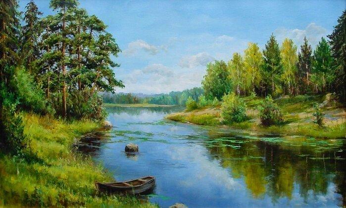 Творчество современного художника Елены Покушевой (9фото+1видео)