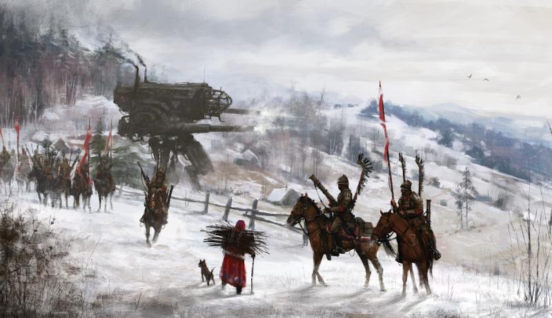 Роботы, гусары и монстры: мистический мир Якуба Розальского (13фото)