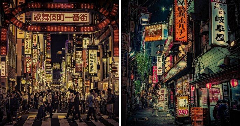 Фотограф осуществил мечту детства, побывав в Японии (13фото)
