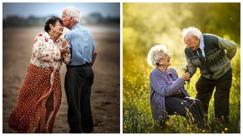 Любовь не знает убыли и тлена: прекрасные портреты пожилых пар от Суджаты Сетии (16фото)