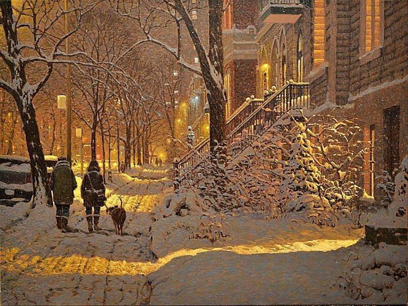 Картины канадского художника Ричарда Савойя (14фото)