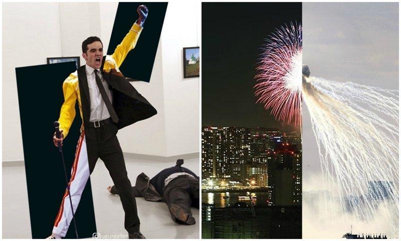 Турок показал печальные контрасты двух миров, в которых мы живем (14фото)