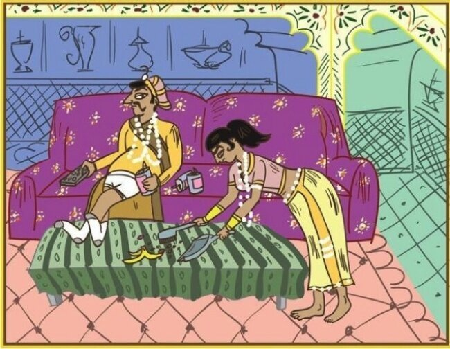 «Камасутра» для супругов со стажем (10фото)
