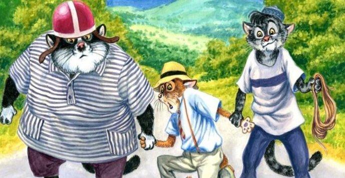 Художник из России представил, что будет, если актёров в известных фильмах заменить котами (9фото)