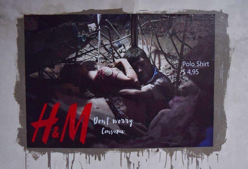 Художник рисует билборды, обличающие жадность корпораций (7фото+1видео)