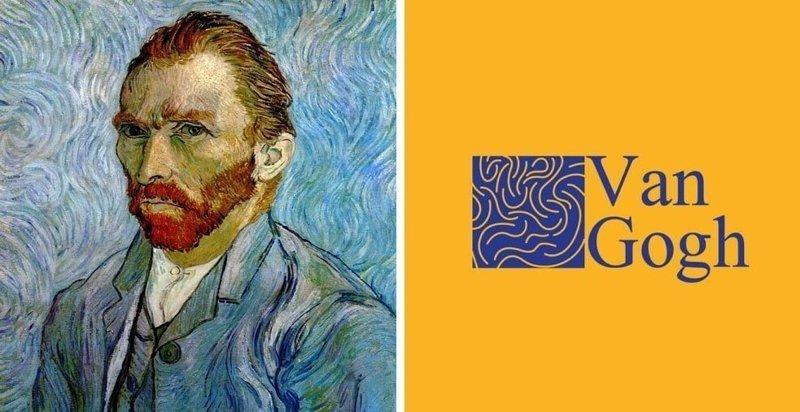 Бразилец представил, как выглядели бы логотипы знаменитых художников, будь они нашими современниками (25фото)