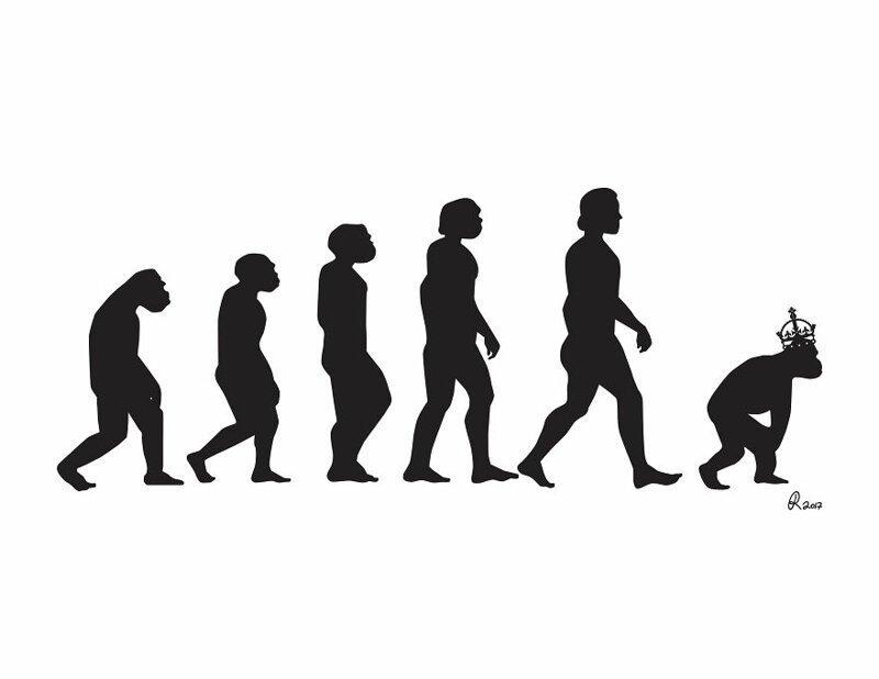 Да здравствует эволюция: серия саркастичных иллюстраций о современном обществе (30фото)