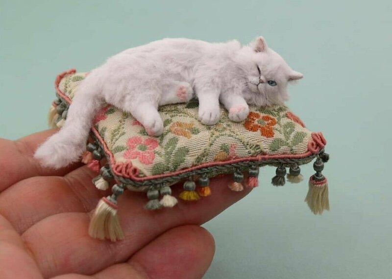 Как живые: Невероятные миниатюрные скульптуры Керри Паюти (35фото)