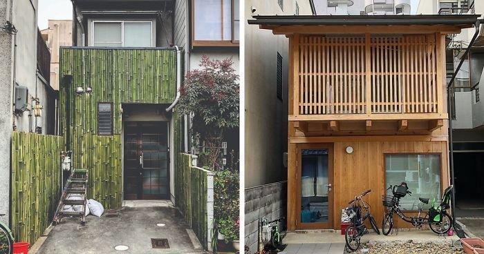 Как фотографу выразить свою любовь к городу: подборка необычных домов Киото (46фото)