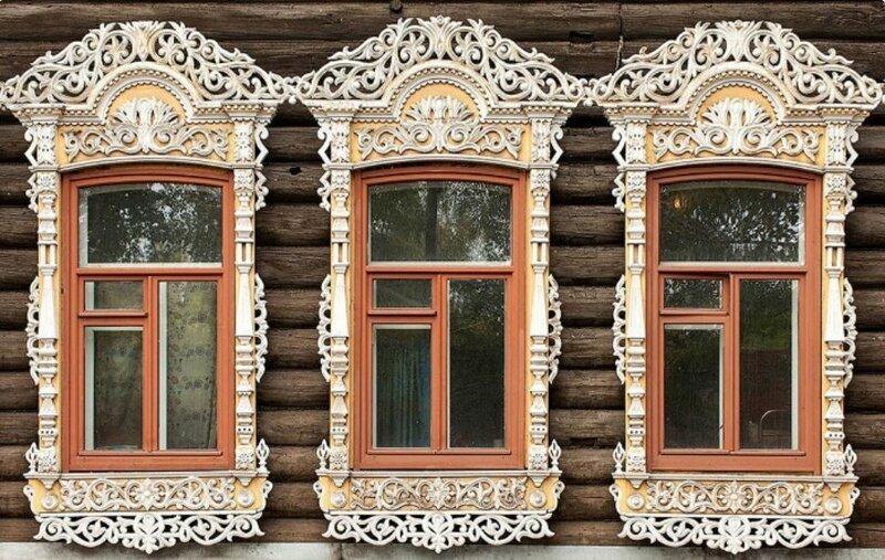 Символизм в русском зодчестве, или как по оконным наличникам узнать, от чего защищался народ (15фото)