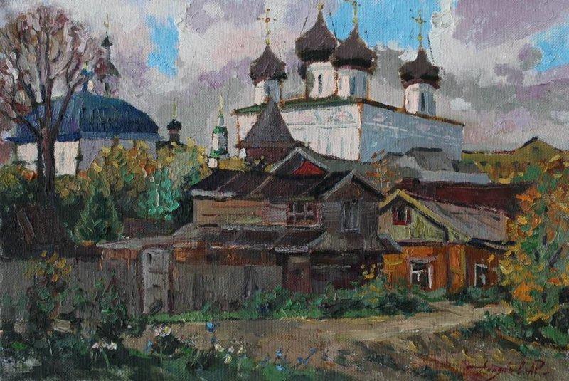 Русская провинция глазами современных живописцев (30фото)