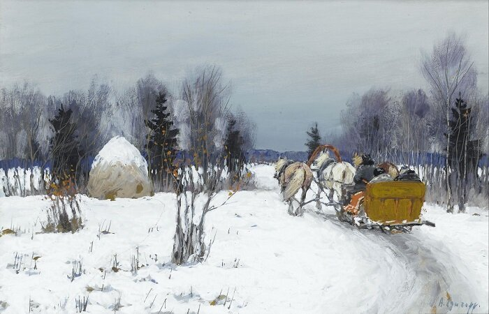 Чем наши предки занимались зимой (6фото)