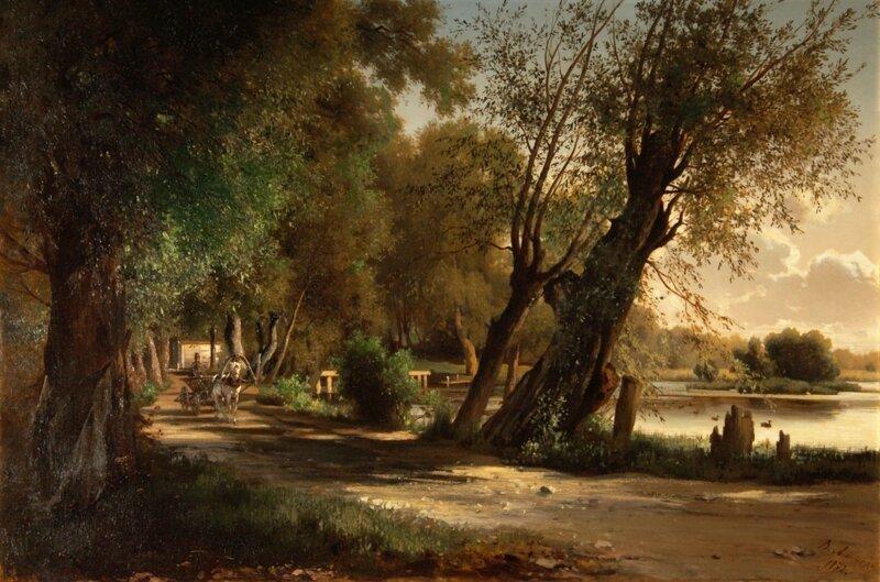 Живописец Владимир Фёдорович Аммон, 1826-1879 (10фото)