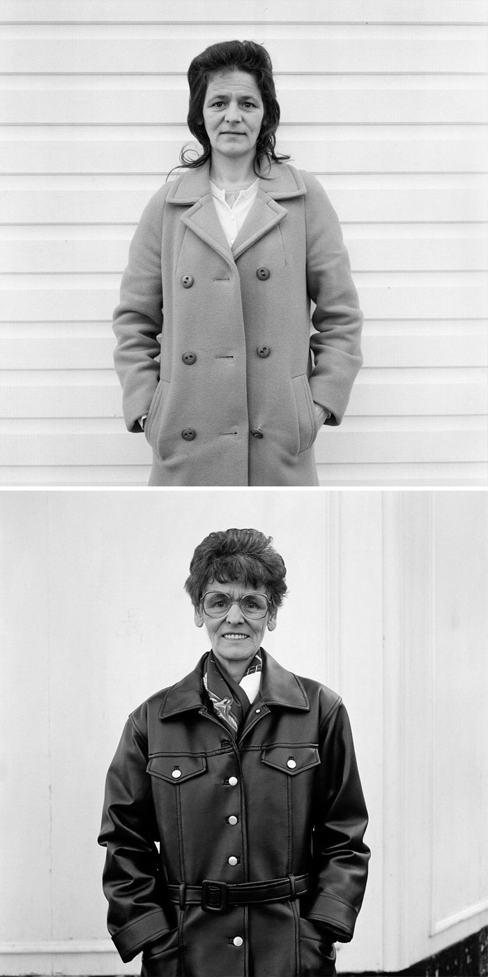 Фотограф снимал незнакомцев в 90-х, а потом отыскал их и показал, как они изменились за 20 лет (17 фото)