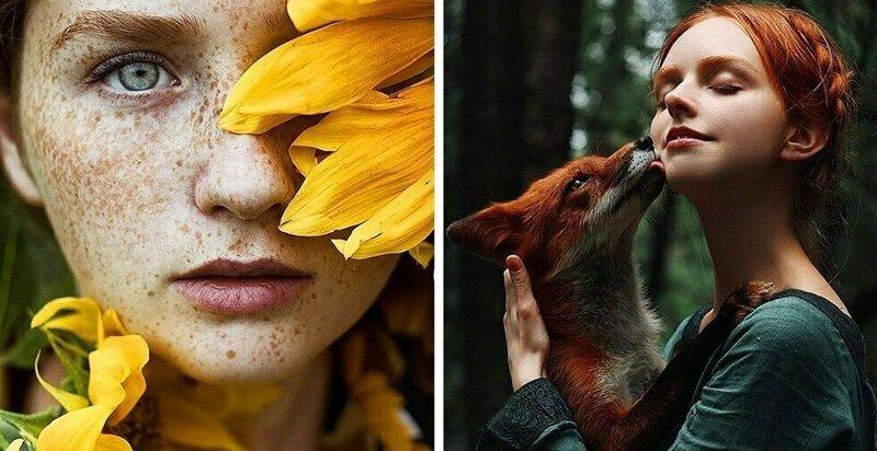25 снимков чарующих рыжих девушек от фотографа из Санкт-Петербурга (27фото)