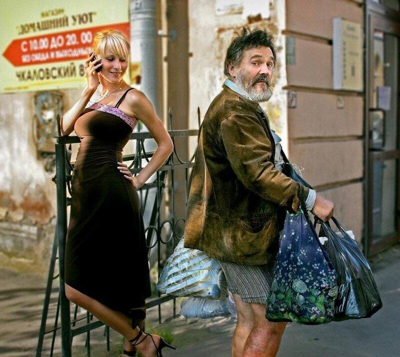 20 невероятных работ российского фотографа, которые как нельзя точно передают колорит российских улиц (20фото)