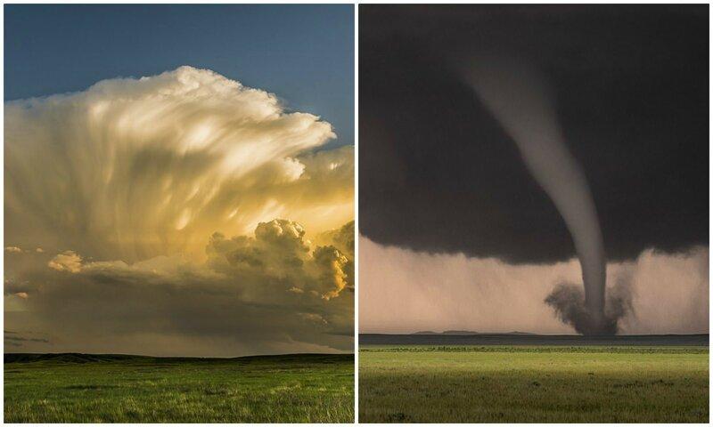 Яростная красота стихии: завораживающие фотографии Эрика Меолы (17фото)