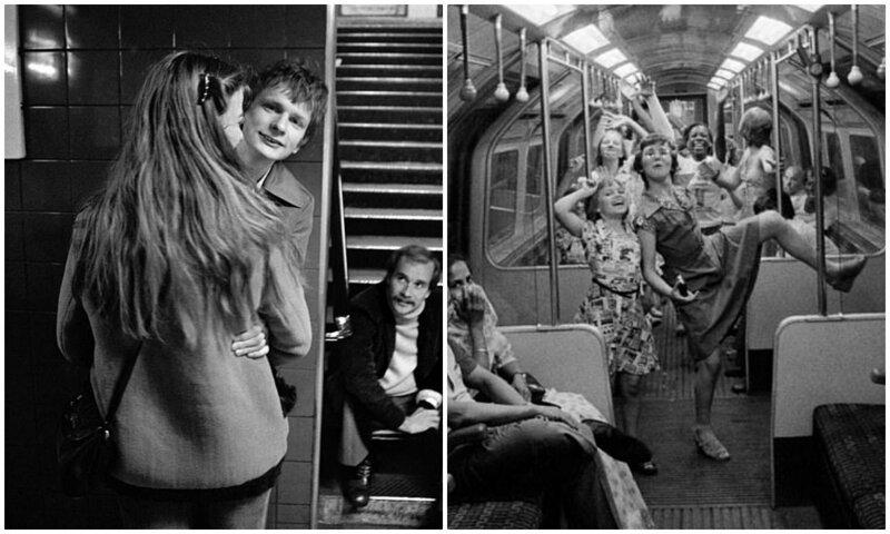 Романтика лондонской подземки 1970-х годов (13фото)