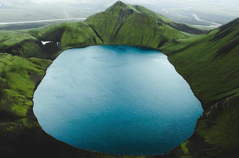 Исландия с высоты (18фото)
