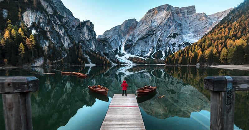 Незабываемая красота Доломитовых Альп в Италии (26фото)
