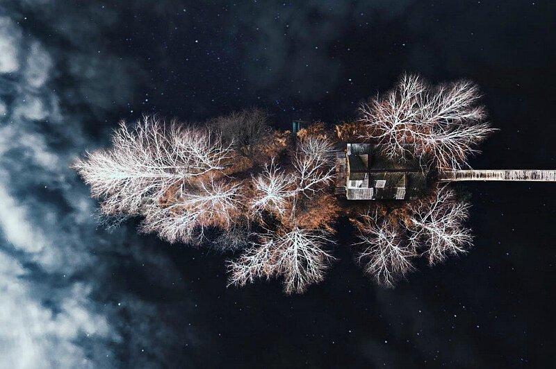 Красоты Карпат с высоты птичьего полета (24фото)