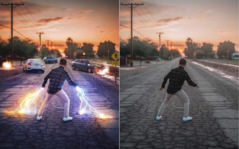 Невероятно красивая обработка фотографий (5фото)