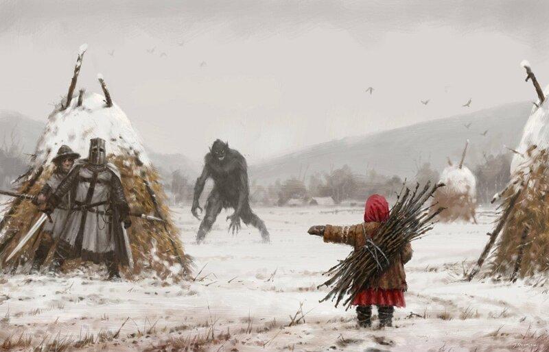 Польский художник рисует тревожные картины, на которых сразу видно — героям хана (16фото)