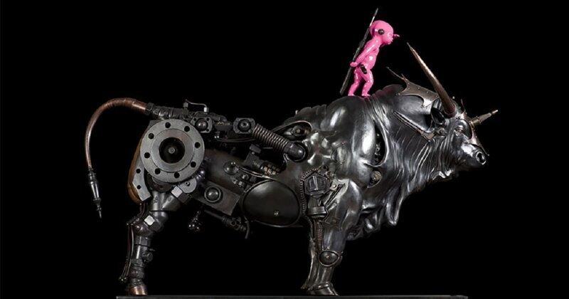 Впечатляющие стимпанк-скульптуры Пьера Маттера (18фото)
