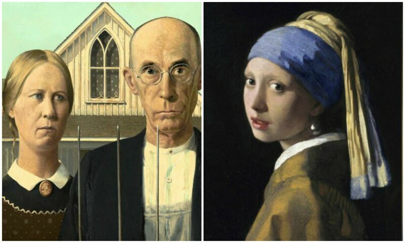 14 любопытных историй, которые стоят за известными картинами (15фото)