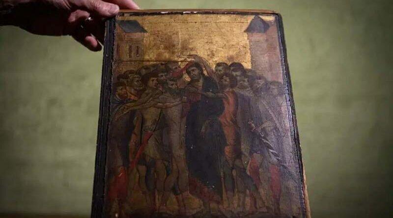 Средневековая картина, которая годами висела на кухне пенсионерки, была продана на аукционе за $25 млн (6фото)