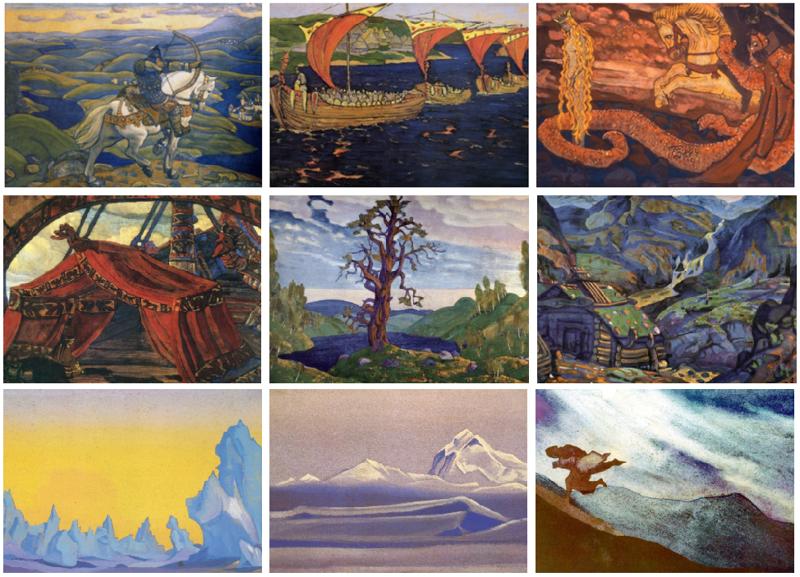 Николай Рерих: 5000 картин, 10 томов книг и бесконечные путешествия (16фото)