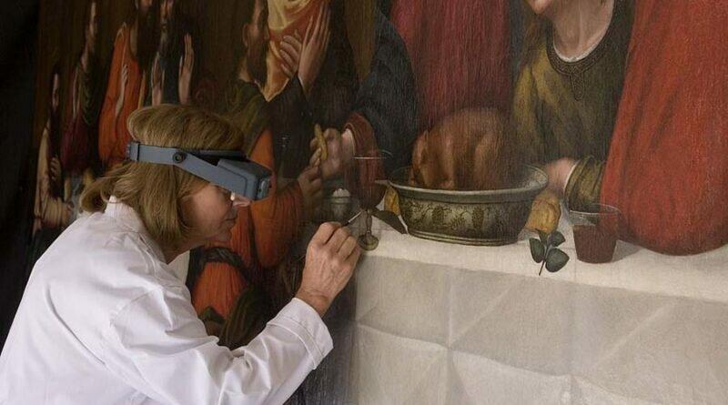Забытая «Тайная вечеря», написанная одной из первых женщин-мастеров эпохи Возрождения, была отреставрирована спустя 450 лет (8фото)