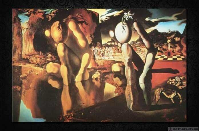 Самые знаменитые картины Сальвадора Дали (14фото+3гиф)