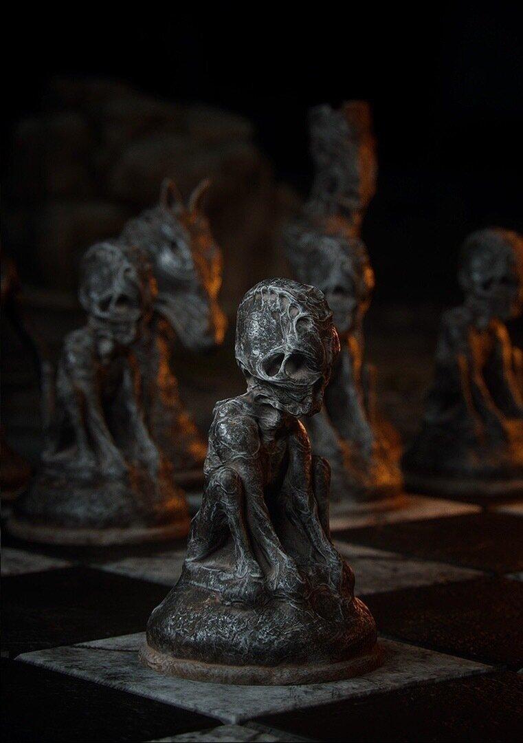 Мрачные шахматы (8фото)