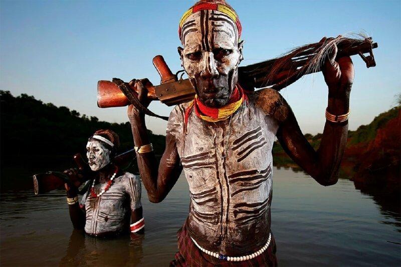 Племя мурси: новые древние (13фото)