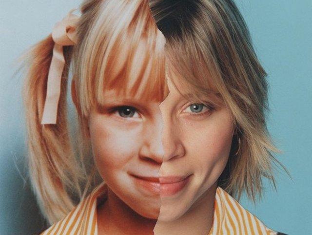 Фотограф очень наглядно показал, как меняются лица людей с годами (20 фото)