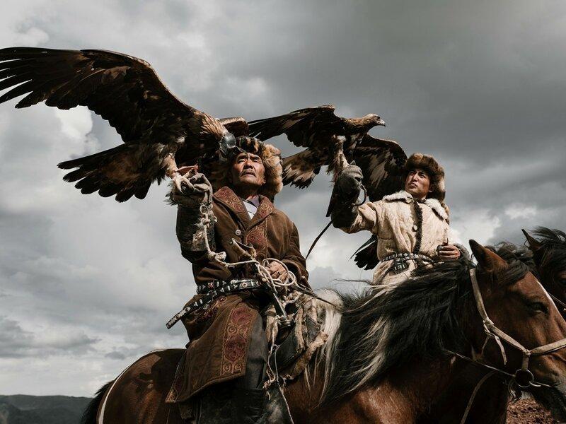 Охотники с орлами (25фото)