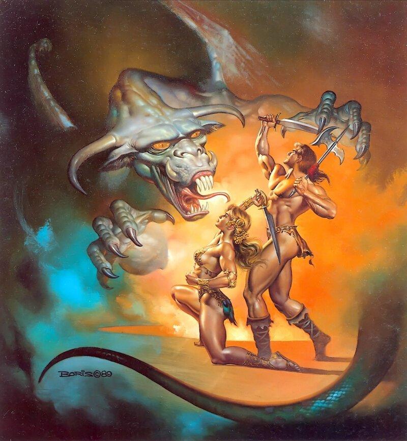 Борис Валледжо - великолепный мастер-художник фэнтези-миров (40фото)