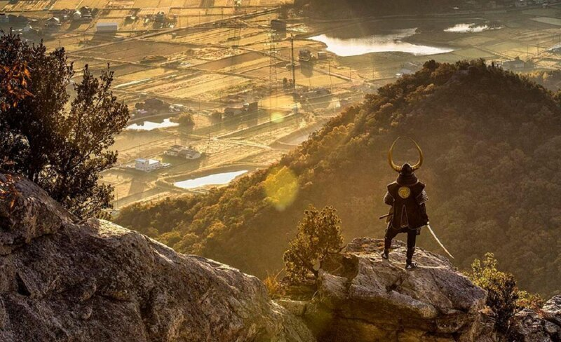 Самурай - путешественник во времени (36фото)