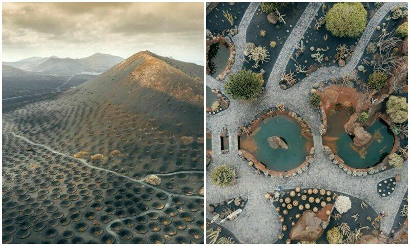 Остров Лансароте: пейзажи словно с другой планеты (15фото)