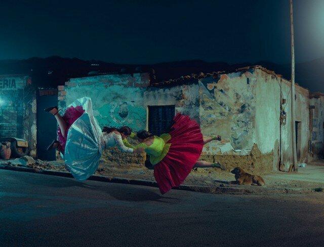 «Летающие чолиты»: боливийские женщины-борцы (8фото)