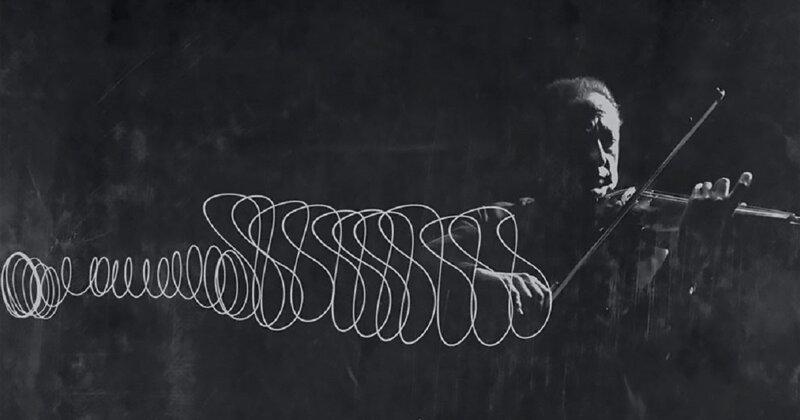 Танец смычка Яши Хейфеца в фотографиях 1952 года (6фото)