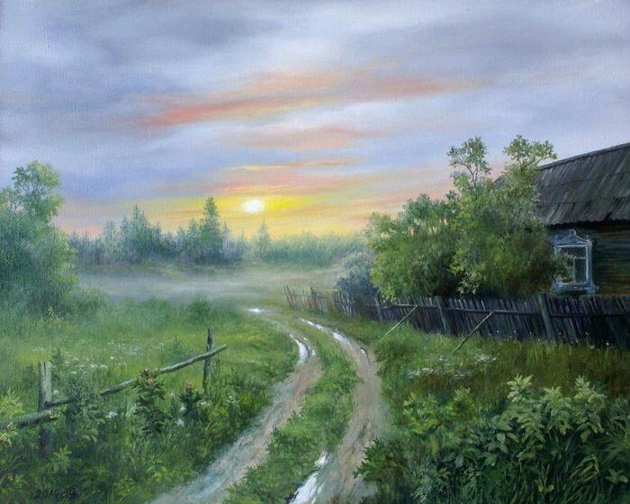 Картины художника Сергея Дорофеева (17фото)