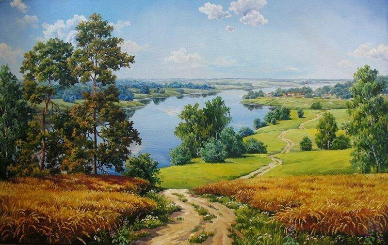 Картины художницы Марии Гордеевой (21фото)