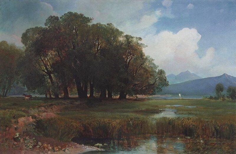 Картины Алексея Кондратьевича Саврасова (1830-1897)