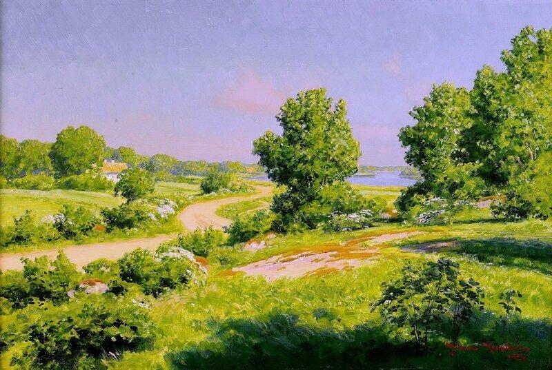 Картины Шведского художника Йохана Кроутена (1858-1932)