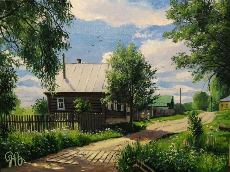 Картины Натальи Панасюк (21фото)
