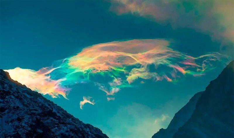 Над Сибирью появились необычные облака (11фото)